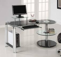 Staples Corner Desk Oak by Workspace Modern Minimalist Workspace Design With Imac Computer