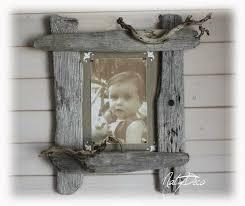 cadre photo en bois flotté natydeco