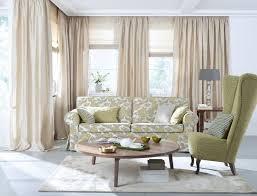 wohnzimmer gardine farbe creme vielfältige plissees