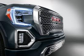 2019 GMC Sierra Denali Arriving At Dealerships Across US - CarBuzz Sierra Denali Ultimate Pickup Gmc Life 2019 Is A Toughlooking Luxury Truck With Carbon 1500 Review Gear Patrol Gm Unveils Slt Pickup Trucks New 2017 Ultimate Full Start Up Crew Cab Test Drive 2014 Sierra Stock 7337 For Sale Near Great Neck Puts A Tailgate In Your Roadshow 2016 Gets Upmarket Trim 62l V8 4x4 Car And Driver Lifted On Show Gallery