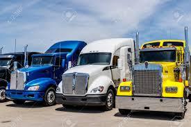 100 Trailer Trucks For Sale Indianapolis Circa June 2018 Colorful Semi Tractor