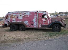 BangShift.com 1949 International KB 6 Tandem Axle Van For Sale On EBay
