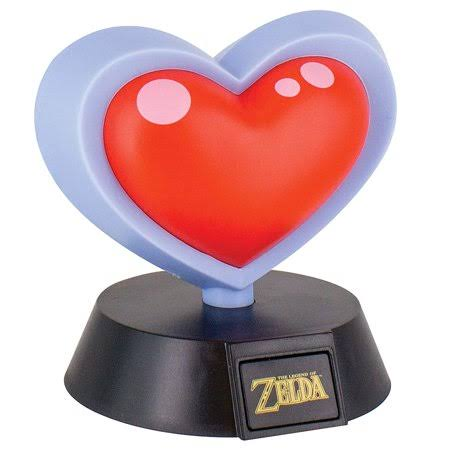Paladone The Legend of Zelda Heart Container 3D Light - 10cm