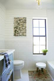 Bathroom Tile Colors 2017 by Easy Affordable Shiplap Using Bender Board Little Green Notebook
