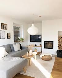 wohnzimmer sofa grauecouch wohnzimmertisc