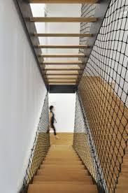 re d escalier en filet de corde idees res