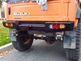 Suzuki Samurai Defiant Armor Rear Bumper By Low Range Off-Road (SRB ...