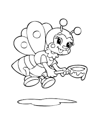 Download Bumble Bee Coloring Pages