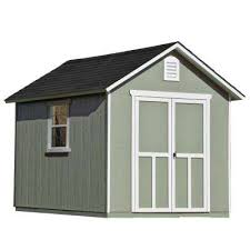 12x16 Wood Storage Shed Plans by Wood Sheds Sheds The Home Depot