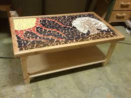 glass mosaic coffee table home salers mosaic tile outdoor