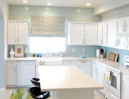 light blue kitchen tiles kitchen backsplash