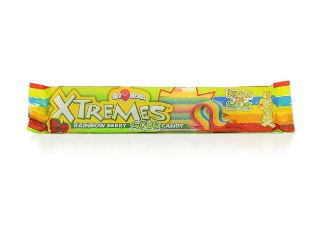 Rhode Island Novelties Airheads Xtremes Candy - Rainbow Berry