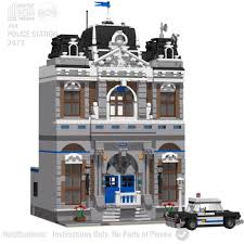 CD Lego Custom Police Station Modular PDF Book Instructions, Corner ... Lego Ambulance 60023 Itructions Old Lego Letsbuilditagaincom Lego Police Command Center 7743 City Rescue 6693 Refuse Collection Truck Set Parts Inventory And Kicken Chicken Food Sticker Pack Legos Fire Chiefs Car 7241 City Prison Island Itructions Vegins Transformers Robots In Dguise Delivery 3221 And Boat 60004