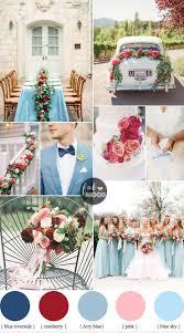 Cranberry Sky Blue Wedding Colour Combinations For Autumn