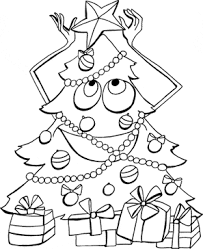 Christmas Tree Coloring Page Print by Printable Christmas Tree Coloring Pages Print And Color For Free