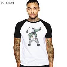 Swag Dabbing Unicorn Panda Son Goku Dab T Shirt Men Summer Funny Design Cotton Brand Clothing Hip Hop Clothes Quirky Awesome