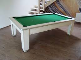 Dining Room Pool Table Combo by Pool Tables Dining With Simple Green And White Billiard Table