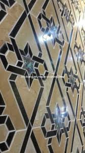 Marble Pattern Border Water Jet Medallion For Interior Decoration 01