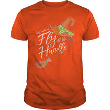 Halloween Southernology Dont Make Me Fly Off The Handle Shirt