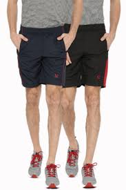 sports 52 wear mens polyester pack of 2 sports shorts
