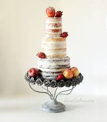 Rustic Naked Cake With Fresh Fruit