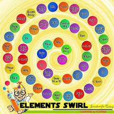 ELEMENT SWIRL High School Board Game