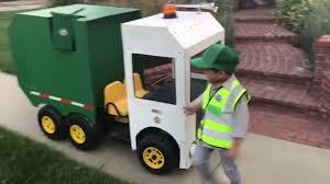 100 Garbage Truck Video Youtube Trick Or Treating On Halloween With Aidan The Kid