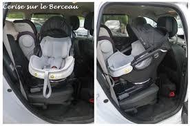 siege auto rotatif isofix test le siège auto de l orbit baby g3 cerise sur le berceau