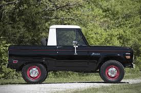 Auction Block: 1969 Ford Bronco Half Cab | HiConsumption 1969 Ford Bronco Half Cab Jared Letos Daily Driver Is A With Flames On It Spied 2019 Ranger And 20 Mule Questions Do You Still Check Trans Fluid With Truck In Year Make Model 196677 Hemmings 1966 Service Pickup T48 Anaheim 2016 Indy U101 Truck Gallery Us Mags 1978 Xlt Custom History Of The Bronco 1985 164 Scale Custom Lifted Ford