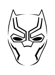 Black Panther Coloring Page Pages