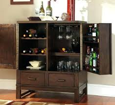 Wine Buffet Table With Rack Dining Room Bar Sideboards Glamorous Furniture Rustic