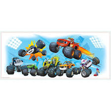 100 Monster Truck Wall Decals Giant Blaze And The Machines Decal 38 12in X 16 12in