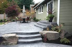 Patio Ideas ~ Concrete Patio Design Ideas Be Sure To Incorporate ... Backyards Cozy Small Backyard Patio Ideas Deck Stamped Concrete Step By Trends Also Designs Awesome For Outdoor Innovative 25 Best About Cement On Decoration How To Stain Hgtv Impressive Design Tiles Ravishing And Cheap Plain Abbe Perfect 88 Your