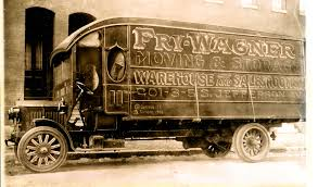 100 History Of Trucks Of Transport Part 12 The First Trucks Broke Down As A