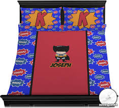 Superhero Bedding Twin by Superhero Duvet Cover Set Personalized Baby N Toddler