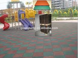 uv resistant outdoor playground rubber granule floor tile