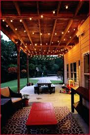 Outdoor String Lights Trees Best Patio Lighting Ideas Garden