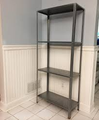 Ikea Metal Glass Shelves