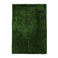 polyester teppich soft 700 grün hochflor teppich