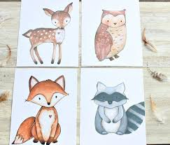 Woodland Creatures Nursery Bedding by Best 25 Woodland Creatures Nursery Ideas On Pinterest Woodland