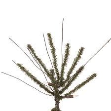 Vickerman Twig Christmas Trees by Vickerman 7ft Brown Green 818 Tips Christmas Tree U2013 Bulbamerica