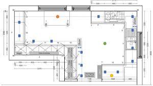 lichtplanung neue küche anzahl position spots und