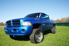 100 Blue Dodge Truck 2001 Ram 2500 Sport Beauty With A Punch