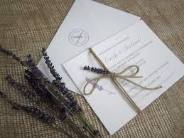 Rustic Lavender Stationery Suite Wedding