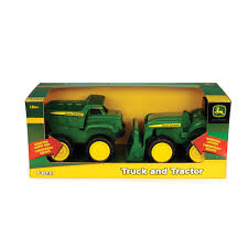 John Deere - 6 Inch Truck And Tractor Vehicle 2-Pack - Tomy - Toys