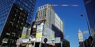 immobilier de bureaux immobilier de bureaux pic historique d immeubles neufs livrés à