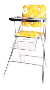 Mid Century Modern 70s Chrome High Chair By Taylor Tot