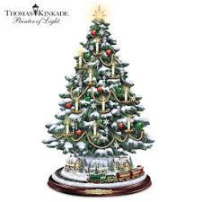 Thomas Kinkade Christmas Tree Cottage by Thomas Kinkade Christmas Collections Bradford Exchange
