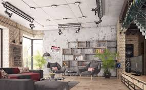 four types of industrial style decor industrial style