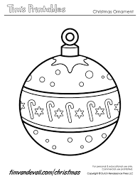 Printable Christmas Ornament Paper